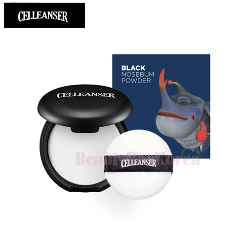 CELLEANSER Larva Black Nosebum Powder 8g [LARVA Limited Edition]